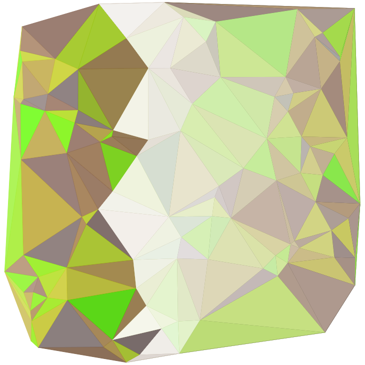 Delaunay tessellation 1
