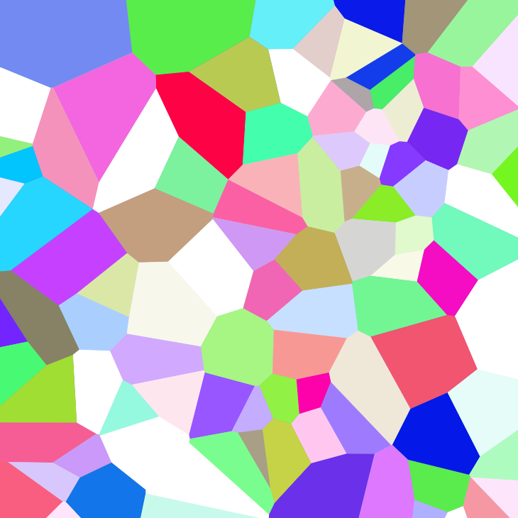 Voronoi diagram 1